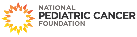 National Pediatric Cancer Foundation Horizontal Logo