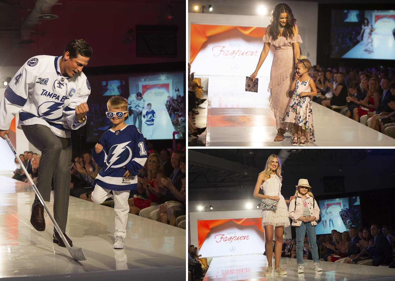 Fashion Funds the Cure Event Photo Collage from Tampa Show