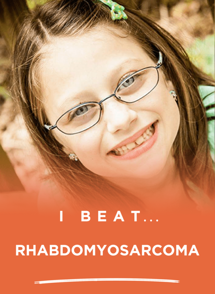 Lauren beat Rhabdomyosarcoma!