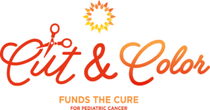 Cut & Color Funds the Cure Logo for the National Pediatric Cancer Foundation