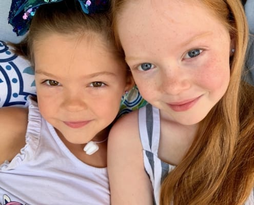 Abigail and Aubriana